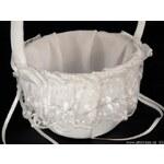 Stoklasa Svatební košíček 15x20cm (1 ks) - bílá
