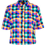 Topshop Multi Grid Check Shirt