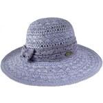 Tonak Dámský slaměný klobouk - světle modrý 30342-G4 AKCE