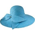 Tonak Dámský slaměný klobouk - světle modrý 30348-G3 AKCE