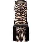 Roberto Cavalli Silk Animal Print Dress