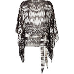 Roberto Cavalli Silk Print Tunic Top