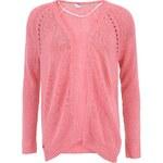 Růžový cardigan Vero Moda Lavenia