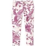 Gap 1969 Garden Floral Legging Skimmer Jeans - Sangria