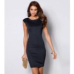 Venca Pouzdrové šaty se štrasovými detaily černá