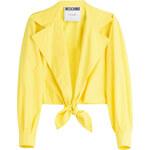 Moschino Tie Front Cotton Shirt
