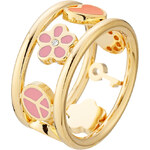 Marc by Marc Jacobs Happy House Logo Ring with Diamonds