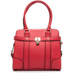 AUREU Perfektní červená klasická kabelka - A1673-2R /T73