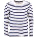 Krémové triko s modrými pruhy ONLY & SONS Mar