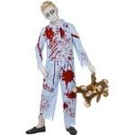 Kostým Zombie kluk v pyžamu Pro věk(roků) 10-12