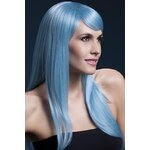 Paruka Sienna pastelová modrá