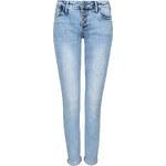 Tally Weijl Blaue Skinny-Jeans mit Knöpfen