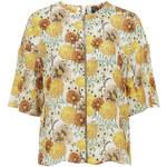 Topshop Silk Marigold Raglan Top by Boutique