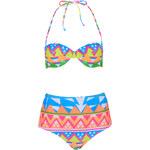 Topshop Aztec Surf Bikini Set