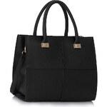LS Fashion Kabelka LS00153L černá