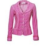 LINEA TESINI Dámské růžové sako Linea Tesini, Velikost 38, Barva růžová