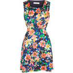 Topshop **Chelsea Flower Dress With Cut Out by Jovonna