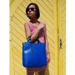 Modrá kabelka Pure London