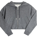 Golden Goose Cropped Cotton Hoodie