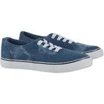 C&A Damen Denim-Sneaker in dunkelblau von Clockhouse