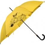 Doppler Dámský holový vystřelovací deštník Lang Flex Butterfly 740765BF-4