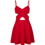 Topshop **Cut-Out Skater Dress by WYLDR