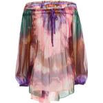 Emilio Pucci Printed Silk Chiffon Blouse