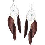 Topshop Dreamcatcher Drop Earrings