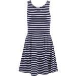 Modré pruhované šaty ONLY Emmelie