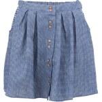 Modrá kostkovaná sukně Bellfield Ivy