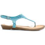 DANIC Skvělé modré letní sandály