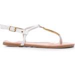 SERGIO TODZI Parádní lehké bílé sandály