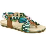 Cortina.be dámská letní obuv 271310 zelené sandály