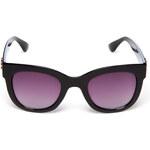 Tally Weijl Black Thick Wayfarer Sunglasses