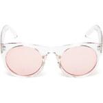 Tally Weijl White Transparent Wayfarer Sunglasses