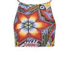 Topshop **Aztec Crop Bikini Top by Jaded London