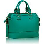 L&S Fashion (Anglie) Kabelka LS00157 zelená