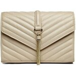 Guess by Marciano Kabelka Cicci Quilted Cross-Body béžová