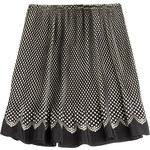 Anna Sui Polka Dot Silk Skirt