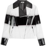 Fendi Two-Tone Leather Jacket