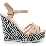 KISS ANGEL Designové béžové sandály - 301-30BE / S2-108P