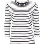 Gerry Weber Shirt mit Streifenmuster und Zierstein-Besatz