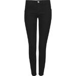 Tally Weijl Black Denim-Like Push Up Skinny Trousers