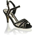 Funky Shoes sandál na podpatku