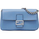 Fendi Micro Baguette Leather Shoulder Bag