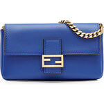 Fendi Micro Baguette Leather Shoulder Bag