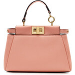 Fendi Mini Peek-a-Boo Leather Tote