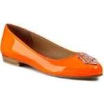Baleríny LOVE MOSCHINO - JA11061C0KJB0450 Fluo Arancio