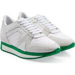Burberry Prorsum Leather Platform Sneakers