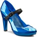 Polobotky UNITED NUDE - Lo Res Pump 1002945221S15 Metallic Snorkel Blue